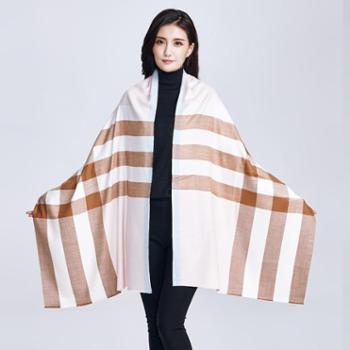 牧都绒语巴格羊绒围巾EWJ16