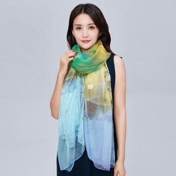 牧都绒语新款女士围巾EWJ140