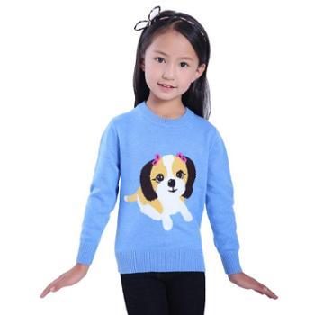 牧都绒语新款男女童套衫ETW7021-22
