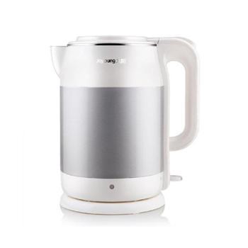 九阳(Joyoung)电热水壶K17-F6进口温控器水煲食品级304不锈钢无缝内胆开1.7L