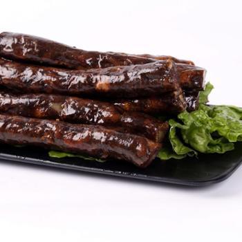 莱芜香肠即食口镇南肠黑风干腊肠50g*2袋山东特产猪肉肠