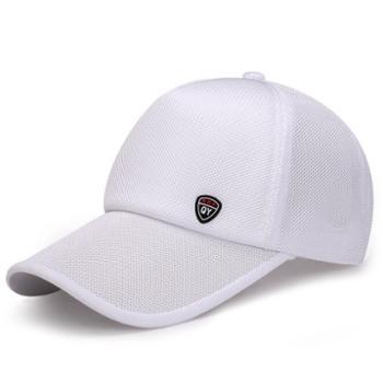 帽子男夏韩版潮太阳帽新款男士户外防晒棒球帽透气网面鸭舌帽