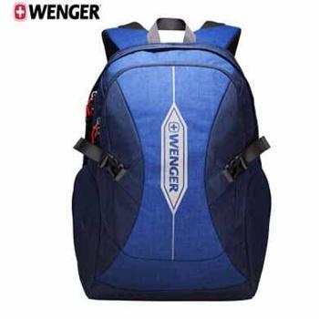 瑞士军刀威戈(Wenger)电脑包男女时尚16英寸笔记本双肩包大容量背包颜色随机发