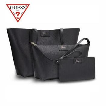 GUESS CHANGE系列百变女王时尚双面用单肩包 GSB1604H00150BK