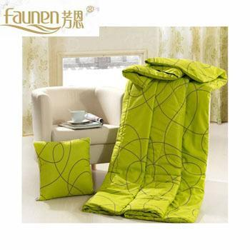 芳恩家纺 FN-R723 时尚印花抱枕被
