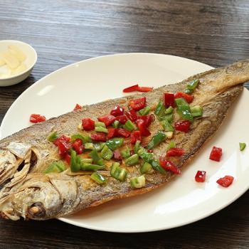 中国农谷湖北特产白刁子鱼农家自制咸鱼淡水大白鱼整条