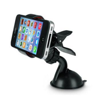 Z【颜色随机】车载手机支架懒人支架带吸盘 360度旋转 通用手机支架座