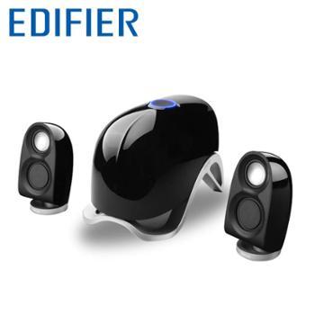 Edifier/漫步者 E1100MKII多媒体电脑音响低音炮桌面立体声音箱
