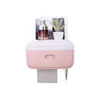 优芬免打孔卫生间手纸盒厕所挂式纸巾盒卷纸抽纸卫生纸收纳置物架