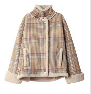 羊羔毛外套女秋冬季短款韩版宽松羊毛羔绒加厚加绒棉服潮