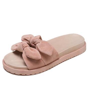 时尚韩版百搭平底夏季凉拖鞋女外穿ins潮女式可湿水
