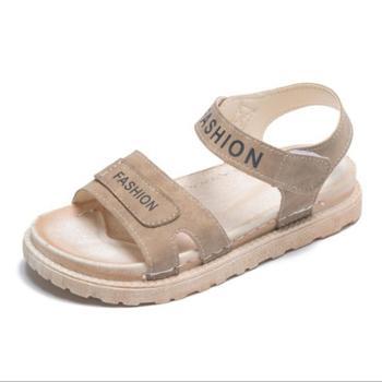 夏季防滑轻便软底学生增高厚底鞋运动凉鞋
