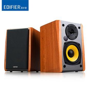 Edifier/漫步者R1000TC北美版多媒体电脑音箱2.0木质低音炮音响