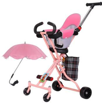 馨宁宝贝婴儿手推车溜娃神器可折叠四轮宝宝推车