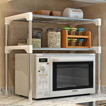 索尔诺新品居家大号实用落地式铁艺厨房浴室层架 隔板置物架