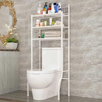 索尔诺浴室卫生间多功能马桶架置物架厕所整理架落地洗衣机架层架