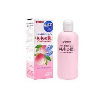【保税仓】PIGEON/贝亲婴儿润肤系列液体爽身粉桃子水痱子水200ML