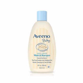 【保税仓】AVEENO/艾维诺婴儿燕麦2合1洗发沐浴露236ML