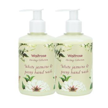 WAITROSE白茉莉芍药洗手液250ML2罐装