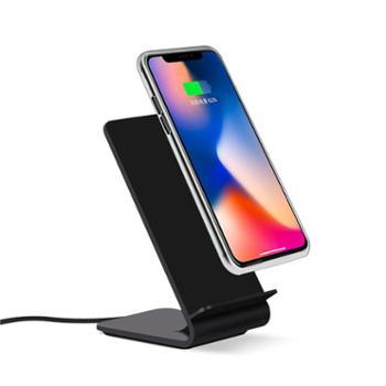 纽曼a8 无线充电器快充底座支架立式双线圈安卓iphone x苹果三星华为通用