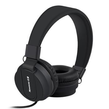 纽曼T12 头戴式线控手机耳机立体声重低音适用于苹果、安卓、电脑等通用