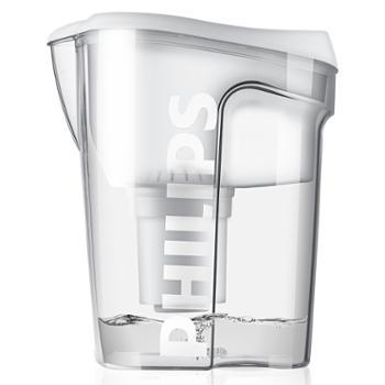 飞利浦/Philips净水壶自来水过滤器家用过净水器wp4200(一壶一芯)