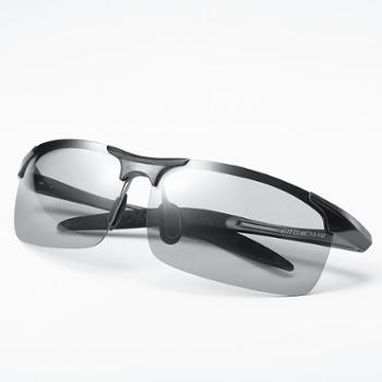 丹尼冠日夜两用高清偏光变色驾驶墨镜太阳镜男司机开车钓鱼眼镜