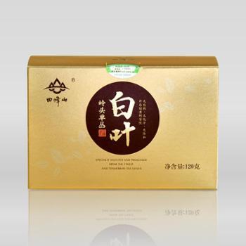 三滴水田峰山乌龙茶凤凰单丛茶有机茶叶120克盒装白叶