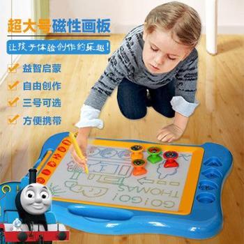 贝恩施彩色磁性画板超大号小孩画板涂鸦幼儿写字板可擦 婴儿画板T003