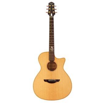MUXIKA慕西卡吉他40寸民谣吉他云杉沙比利吉他G20C