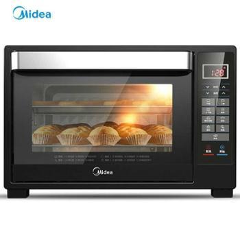 Midea/美的T7-L325D全自动烘焙电烤箱家用电子智能蛋糕大容量