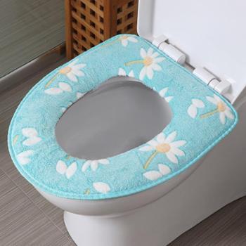 欧润哲马桶垫浴室保暖底层防水坐便垫厕所垫马桶套座圈