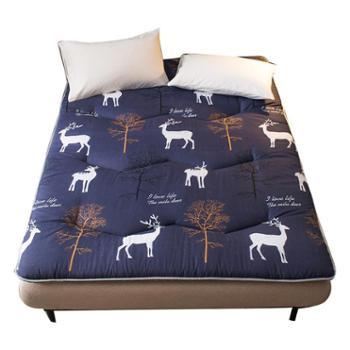 床垫1.8m床褥子1.5m双人垫被褥学生宿舍单人0.9米1.2m海绵榻榻米