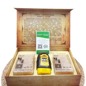 肖氏蜂业 高档礼盒 蜂还巢礼盒(蜂巢蜜2块+蜂蜜醋)