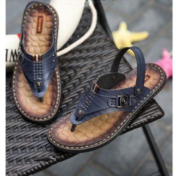 百旅Bailv夏季新款沙滩凉鞋两穿男鞋