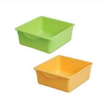 日本爱丽思IRIS儿童玩具盒无盖塑料抽屉盒储物小号收纳盒KCH-32P