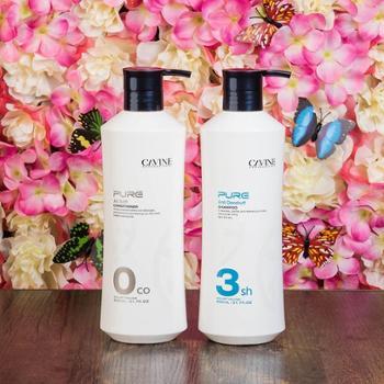 卡凡洗发水护发素臻萃控油净化去屑止痒清爽型新第三代