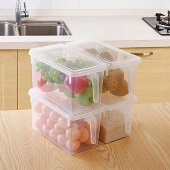 冰箱收纳盒食品分层保鲜盒鸡蛋盒厨房收纳箱塑料储物箱FX6fFNW9