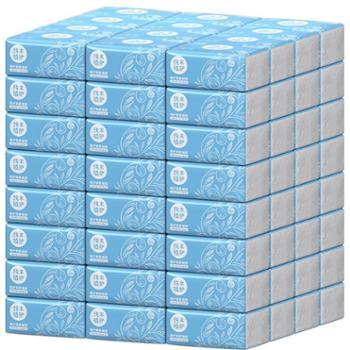 8包 植护原木抽纸*家庭装3层抽取式面巾纸