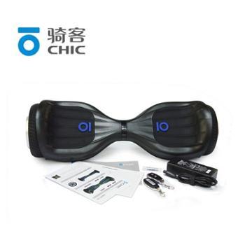 骑客(CHIC)骑客平衡车smart两轮双轮儿童成人电动扭扭车智能体感代步平行车S4魔幻黑++遥控蓝牙音响APP(酷玩款)