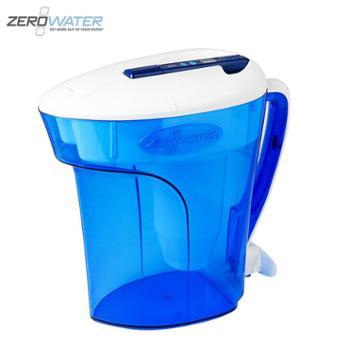 ZEROWATER零水滤水净水壶净水器家用直饮厨房自来水过滤器十二杯蓝色经典款
