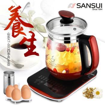 山水(SANSUI) 玻璃养生壶 花茶壶KT-880