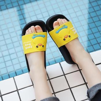 儿童夏季男女孩防滑室内外居家浴室凉拖鞋可配亲子