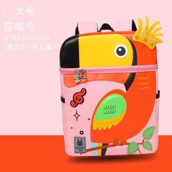 咔米嗒新款独角兽幼儿园书包儿童背包宝宝卡通可爱双肩书包