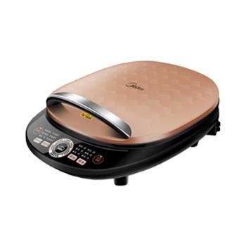 美的(Midea)MC-WJCN30H电饼铛家用煎烤机早餐机智能分区菜单多用途锅电饼铛