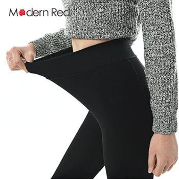 ModernRed秋冬打底裤袜厚款连脚袜踩脚防起球
