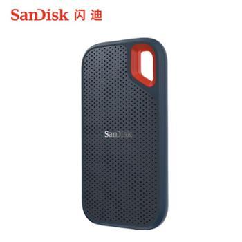 闪迪Type-C接口手机移动硬盘SSD固态移动硬固盘SDSSDE60-1T00-Z25