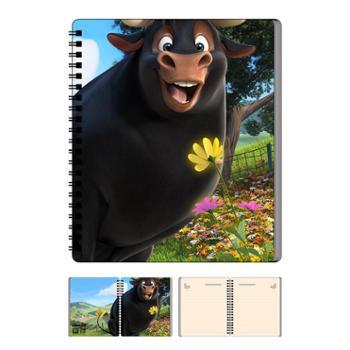 品漫会公牛历险记费迪南本子笔袋书签文具套装