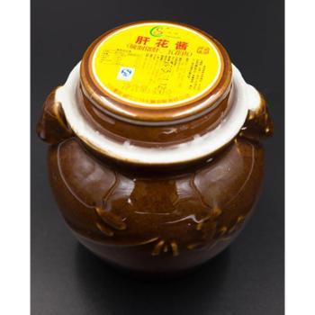 云南丽江特产云南味三川肝花酱辣椒酱腌制猪肝酱包邮450g/坛