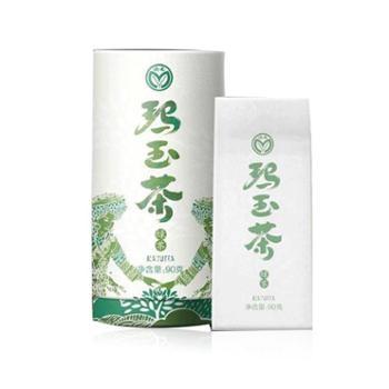 绿鑫玛玉茶纸筒装特级绿茶90g